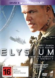 Elysium on DVD