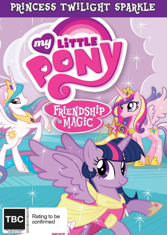 My Little Pony: Friendship is Magic: Princess Twilight Sparkle (Season 4 Collection 1) on DVD image