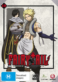 Fairy Tail - Collection 19 on DVD image