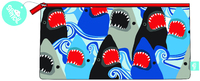 Spencil: Rectangle Pencil Case - Sharks