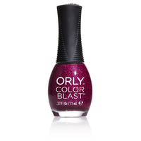 Orly Color Blast Gloss Glitter Nail Color - Magenta (11ml)