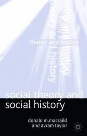 Social Theory and Social History by Donald MacRaild image