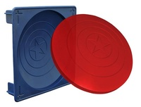 Marvel: Captain America Shield - Gelatin Mold