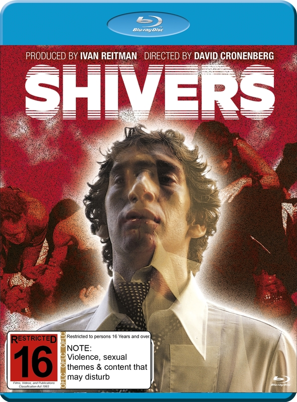 Shivers on Blu-ray