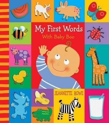 My First Words with Baby Boo Picture Dictionary by Jeannette Rowe image