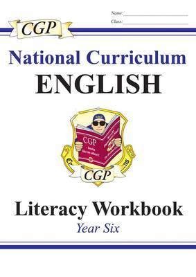 KS2 English Literacy Workbook - Year 6 by CGP Books image