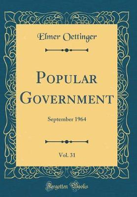 Popular Government, Vol. 31 by Elmer Oettinger image
