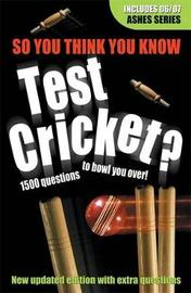 Test Cricket by Clive Gifford image