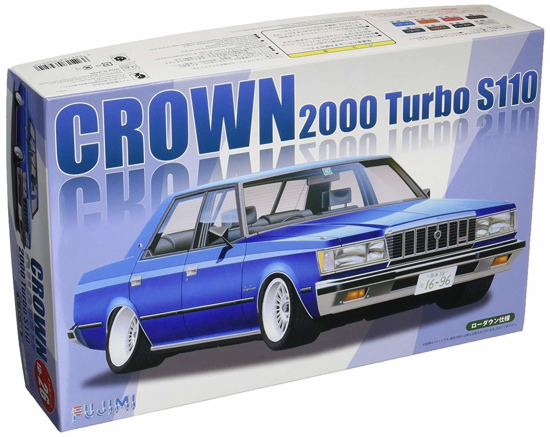 Fujimi 1/24 Toyota Crown 2000 Turbo S110 - Model Kit image