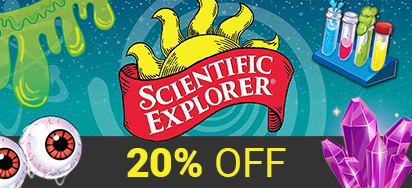 20% off Scientific Explorer!