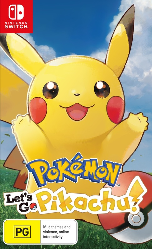 Pokemon Let's Go Pikachu! for Switch
