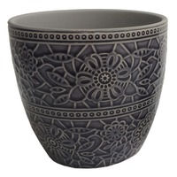 Botanic Dark Blue Planter (16cm)