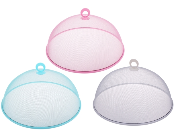 Round Mesh Food Cover (Assorted Colours)