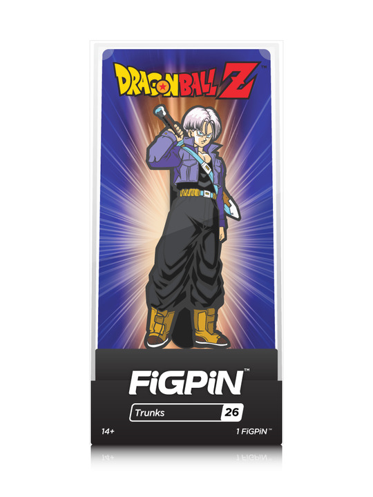 Dragon Ball Z: Trunks (#26) - Collectors FIGPiN image