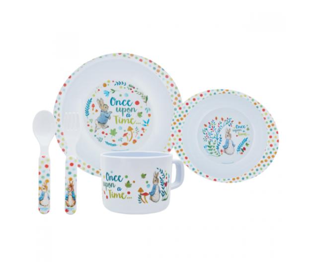 Classic Peter Rabbit - 5 Piece Dinner Set (2020 Design)