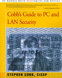 Cobb's Guide to PC and LAN Security by Stephen Cobb image