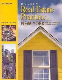 Modern Real Estate Practie in New York by Edith Lank image