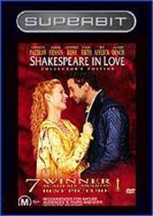 Superbit - Shakespeare In Love on DVD