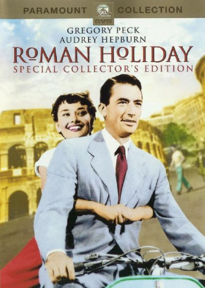 Roman Holiday on DVD image