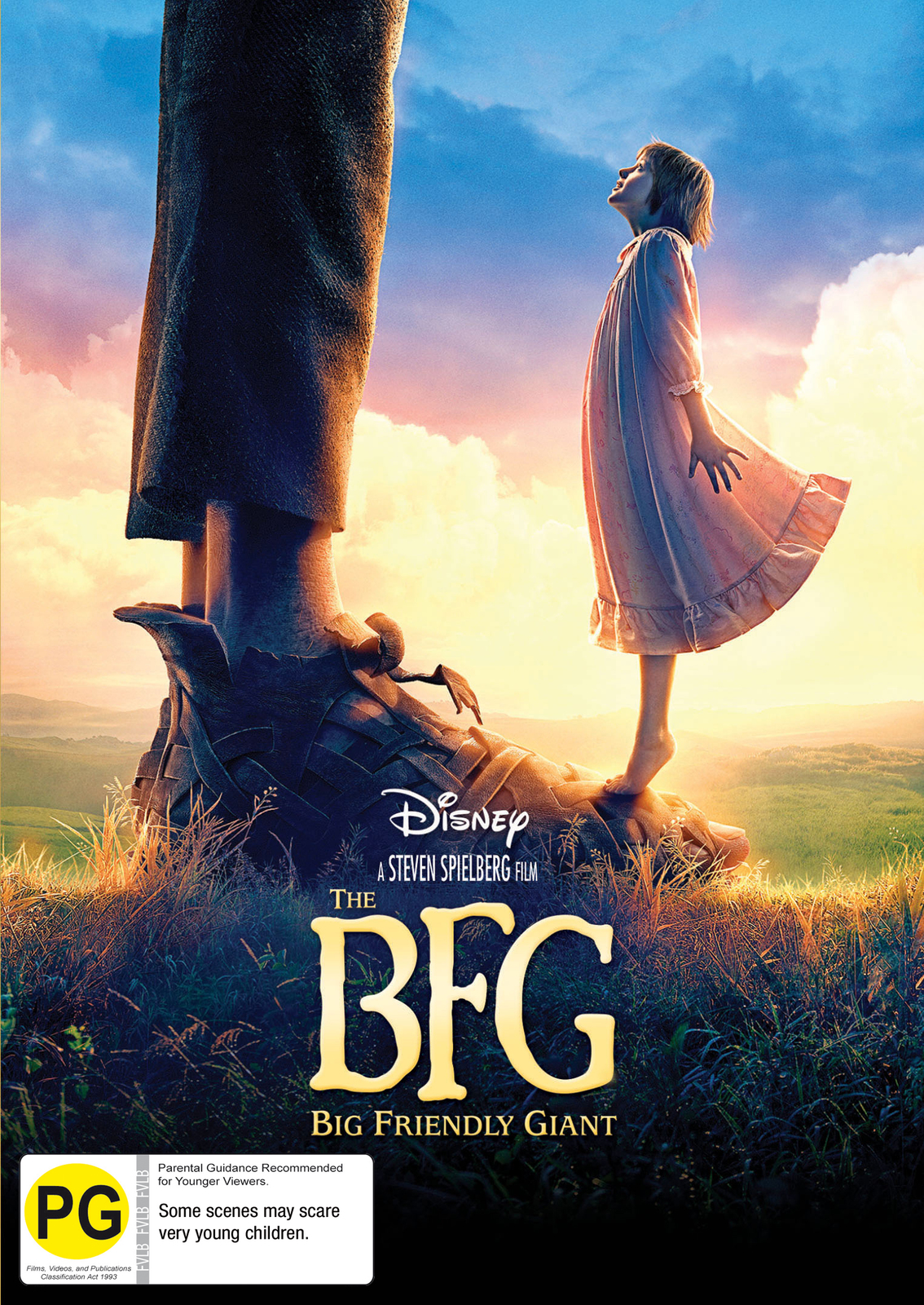The BFG on DVD image