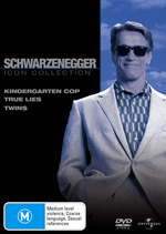 Schwarzenegger Movie Collection (Kindergarten Cop / True Lies / Twins) (3 Disc Set) on DVD