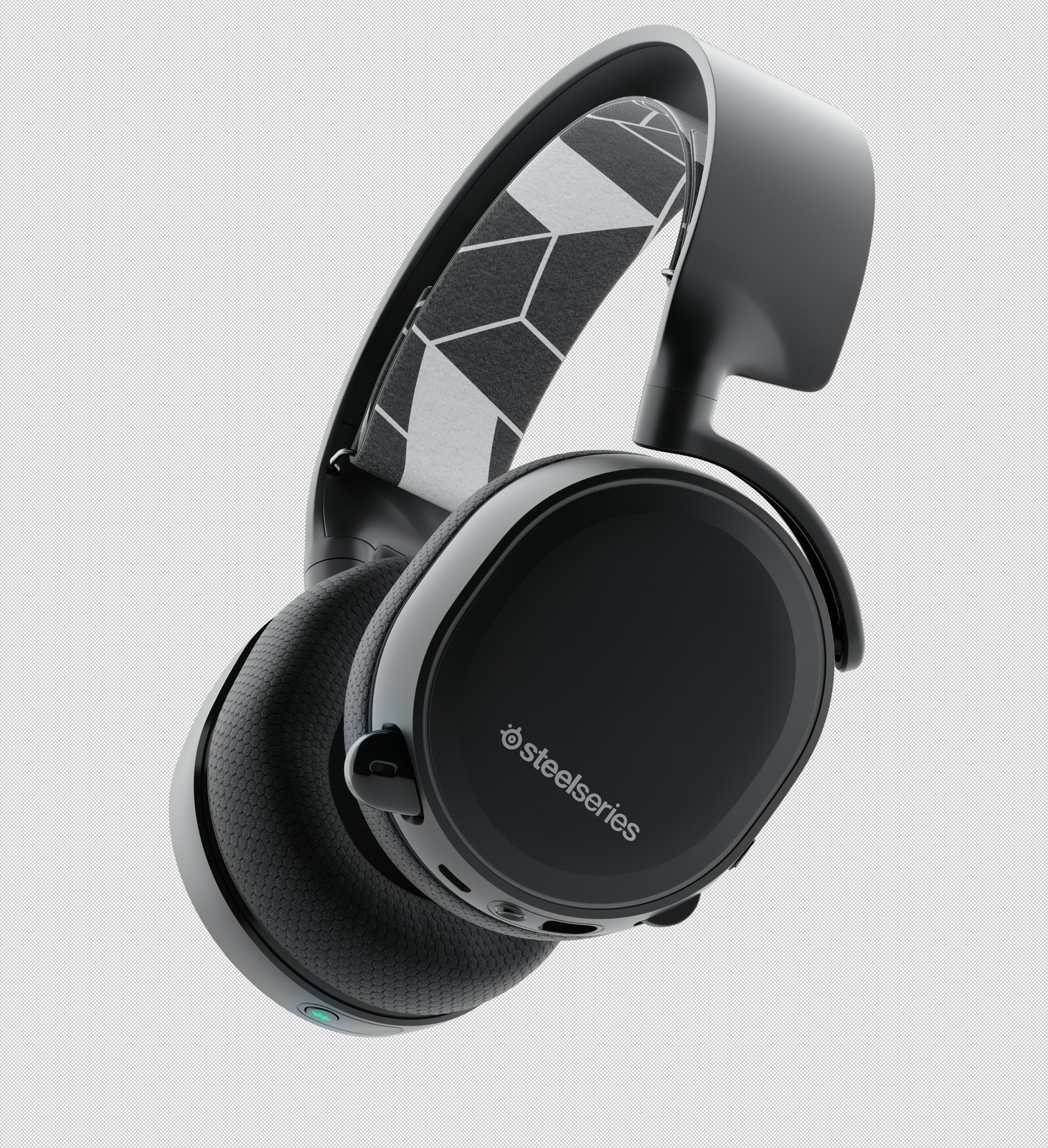 SteelSeries Arctis 3 Bluetooth Headset (Black) for PC image