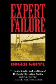 Expert Failure by Roger Koppl image