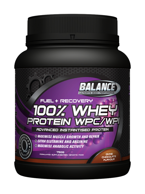 "Balance 100% Whey Protein 'Original"" - Chocolate (750g)"