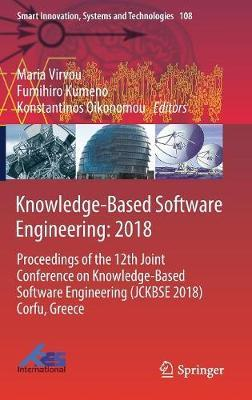 Knowledge-Based Software Engineering: 2018 image