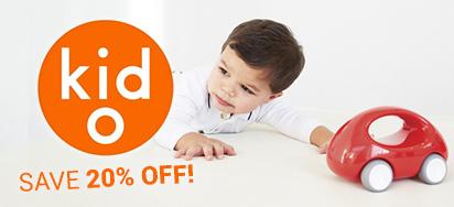 20% off Kid O!