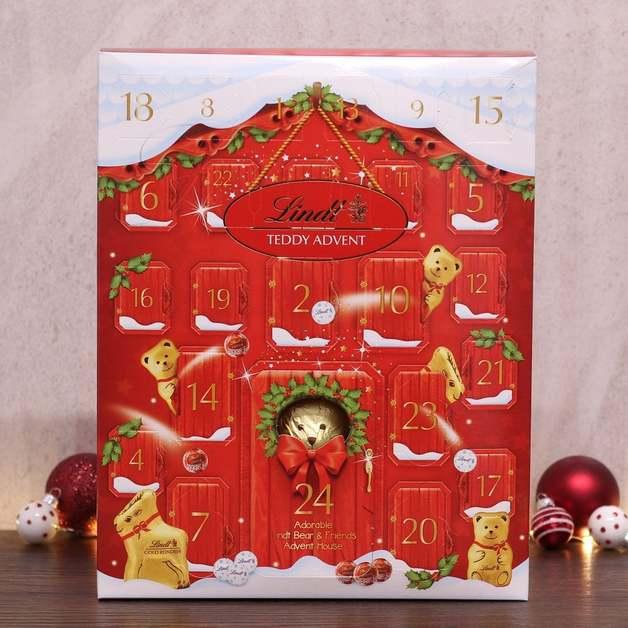 Lindt Teddy Advent Calendar 250g