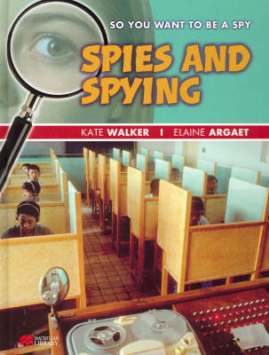So You Want to be a Spy by Elaine Argaet image