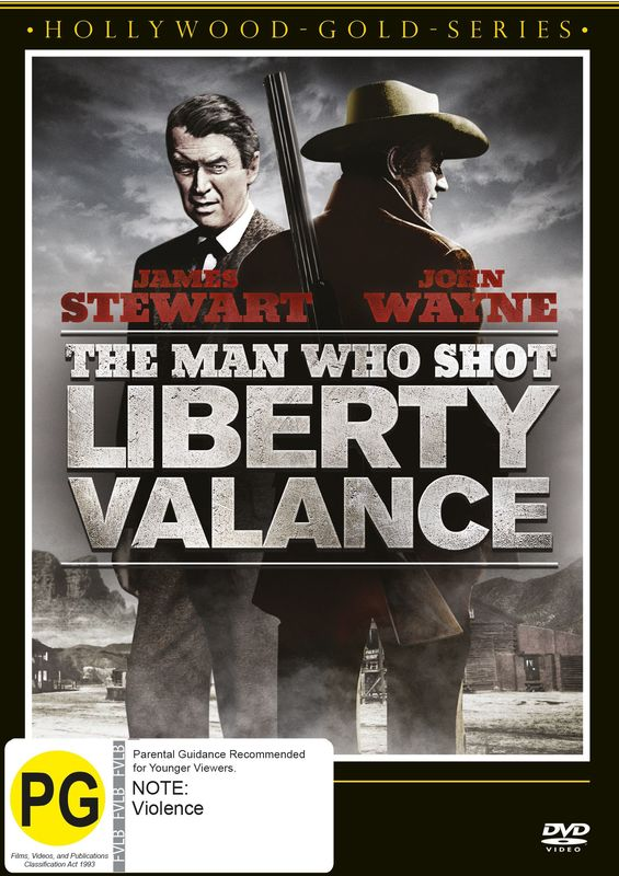 The Man Who Shot Liberty Valance on DVD