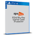 Ape Basics: PS4/PS3/Blu-Ray Case Protector - 10-Pack