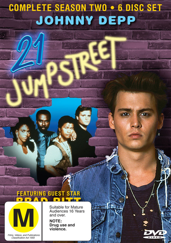 21 Jump Street - Complete Season 2 (6 Disc Set) on DVD