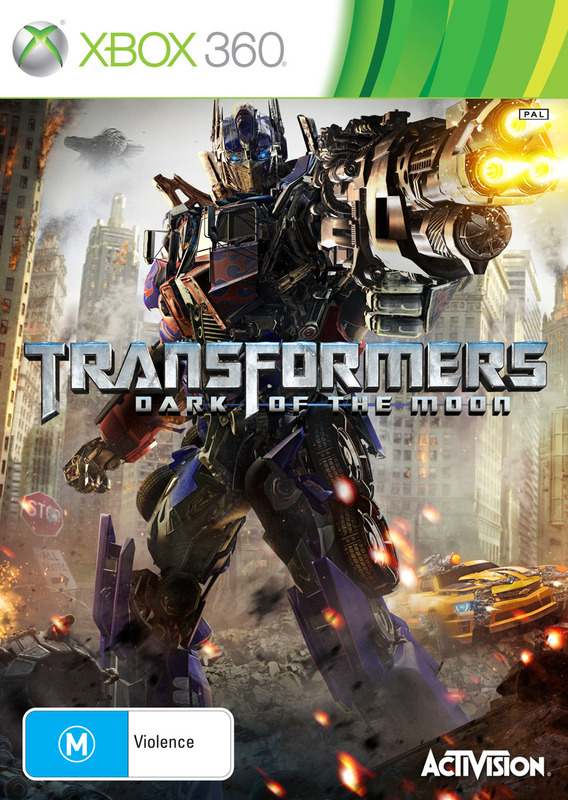 Transformers: Dark of the Moon for X360