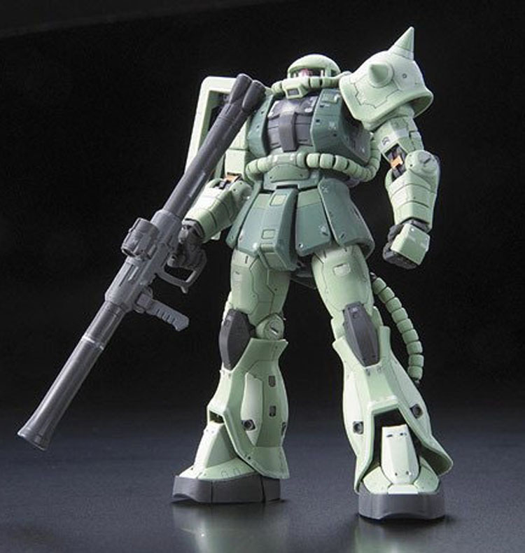 RG 1/144 MS-06F Zaku II - Model Kit image