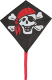 "HQ Kites: Mini Eddy Jolly Roger - 12"" Diamond"