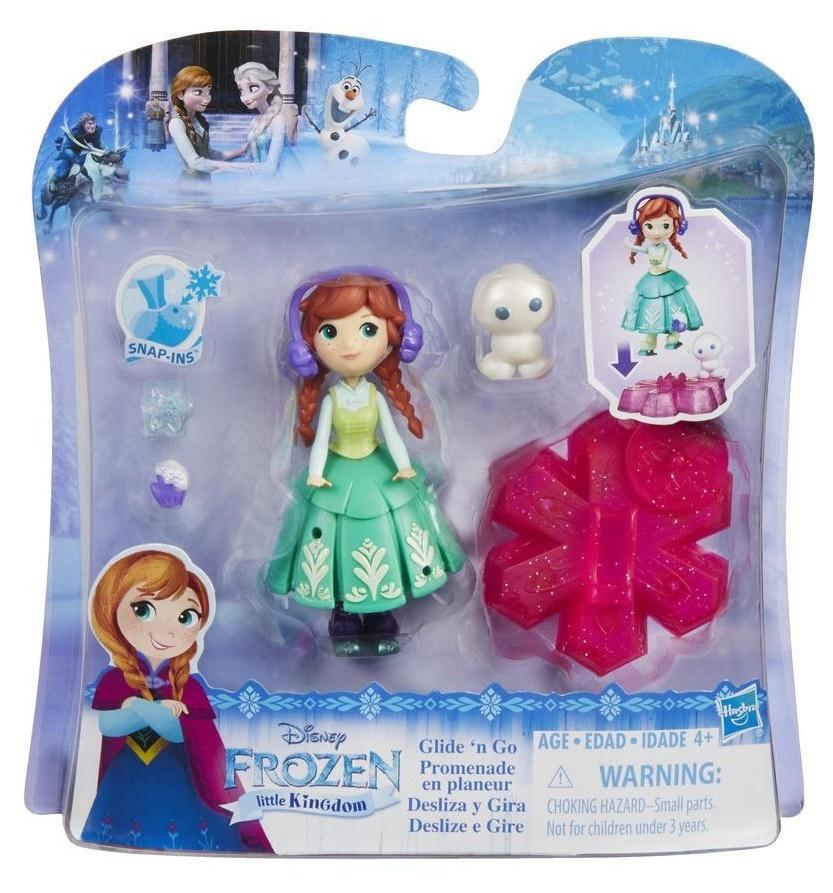 Disney Princess: Little Kingdom - Glide 'n Go Anna Doll image