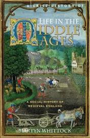 A Brief History of Life in the Middle Ages by Martyn Whittock