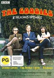 The Goodies - 8 Delicious Episodes (2 Disc Set) on DVD image