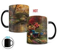 Disney's (Mickey and Minnie Sweetheart Central Park) Morphing Mugs Heat-Sensitive Mug