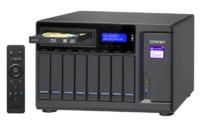 QNAP TVS-882BRT3-I5, 8BAY NAS(NO DISK),16G,I5-7500,ODD(0/1),GbE(4),M.2(2),T3(4),TWR,2YR image