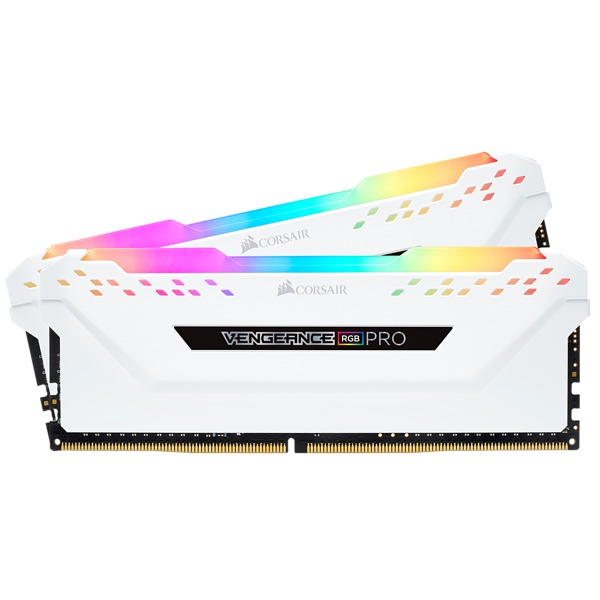 2x8GB Corsair Vengeance DDR4 2666Mhz RGB Pro White Heat