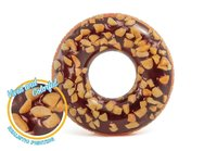 Intex: Nutty Chocolate Donut Inflatable Tube