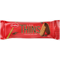Griffins Chocolate Thins 180g (21 Pack) image