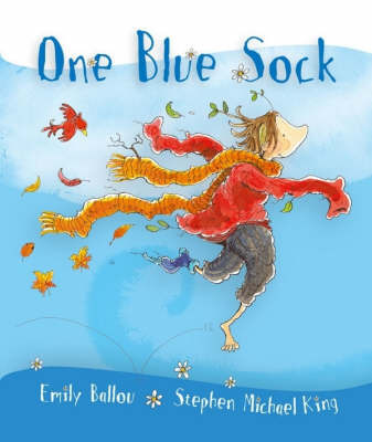 One Blue Sock by Emily Ballou image