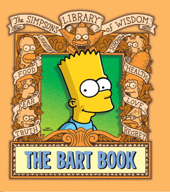 The Bart Book by Matt Groening