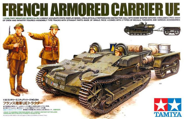 Tamiya French Armoured Carrier UE 1:35 Model Kit