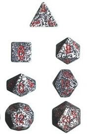 Chessex - Polyhedral Dice Set - Granite Speckled image